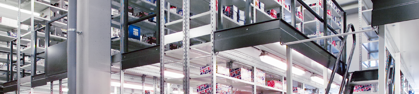 two tier shelving -warehouse maintenance budgets shouldn't be overlooked